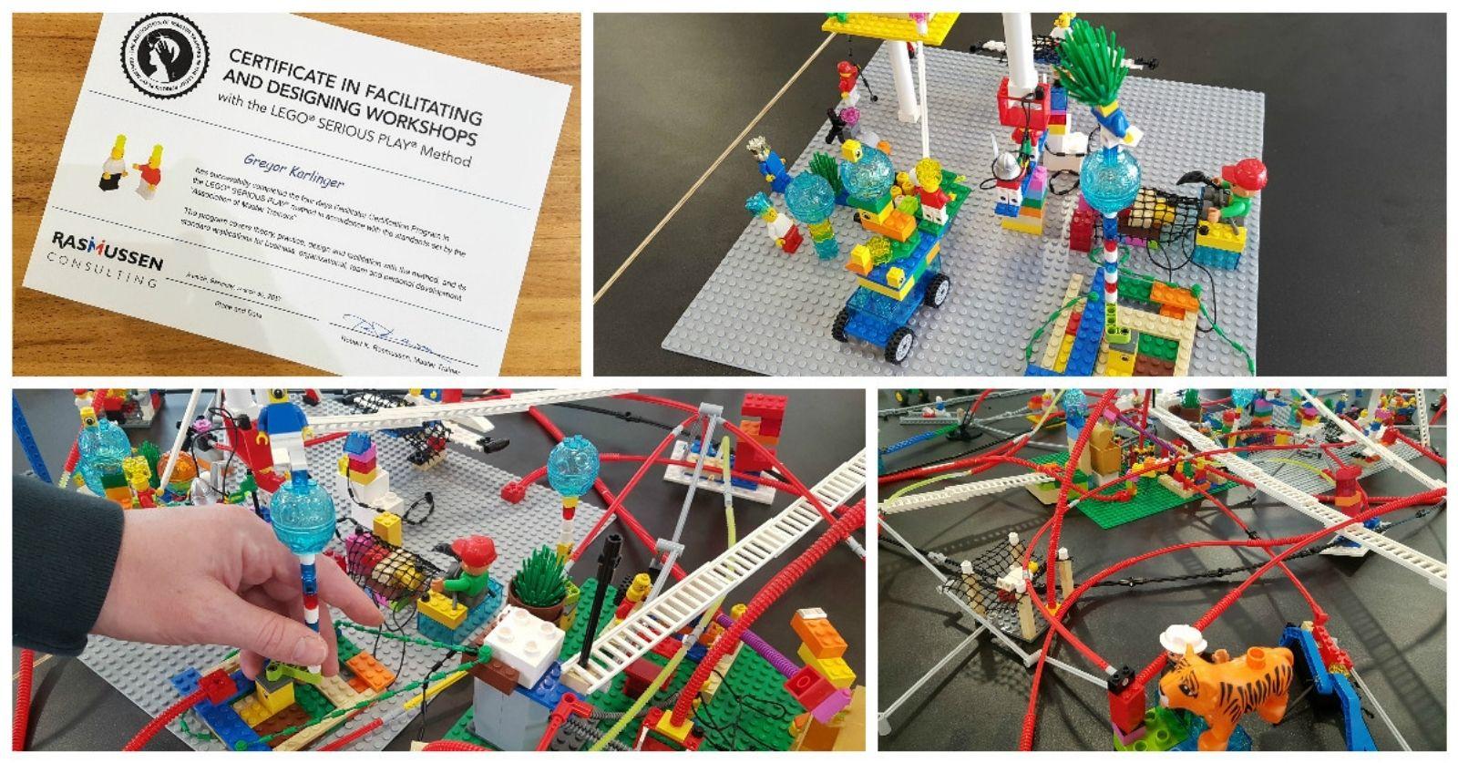 Blog Transferio Gregor Karlinger ist Lego Serious Play Facilitator