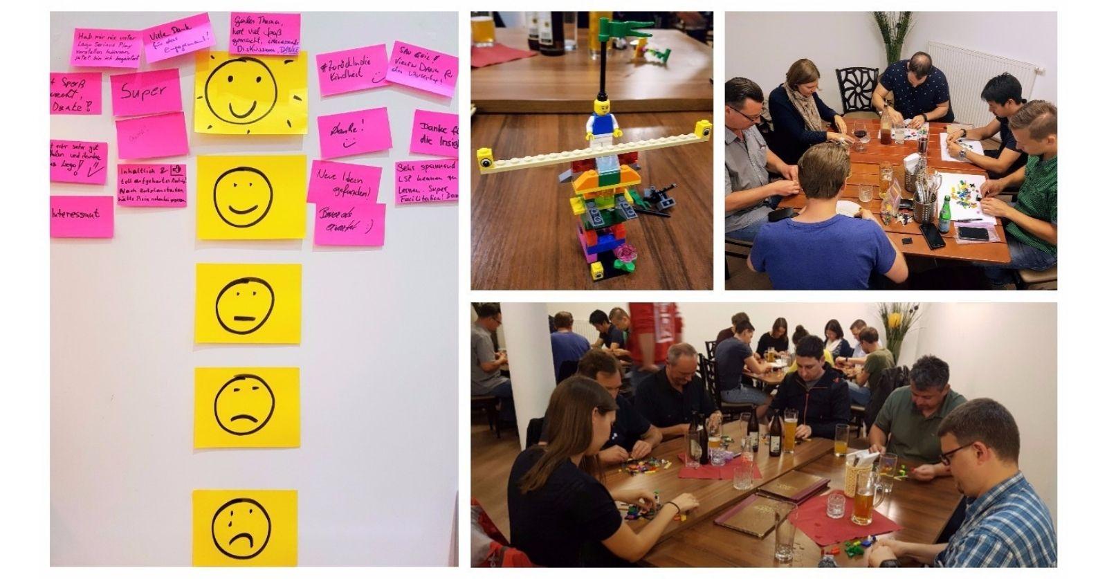 Blog Transferio Lego Serious Play am Scrum Stammtisch Graz